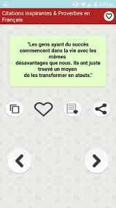 Citations Inspirantes Proverbes En Français For Android Apk Download