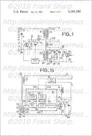 obsolete technology tellye ! grundig super color p37 342 chassis  Crt Tv Moduleted Universal Power Supply Circuit Diagram a regulated power supply device, in particular for a line sweep circuit in a television receiver, whose output stage (30) contains a first electronic switch