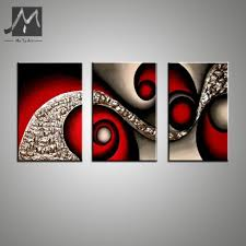 terrific panel abstract art oil painting red wall decor canvas black acrylic painting canvas wall art home painting panel abstract art oil painting red wall