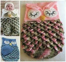 Free Owl Cocoon Crochet Pattern