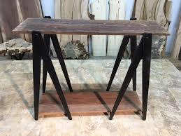 29 5 inch tall custom sawhorse hand made sofa table leg set sofa accent