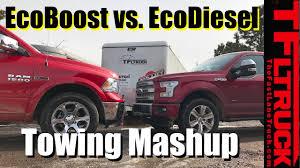 2017 Ford F-150 EcoBoost 10-Speed vs Ram 1500 EcoDiesel 8-Speed ...