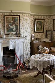 The Day Nursery with a mahogany and wicker cradle and a collection of  Victorian toys at Arlington Court, Devon | Miniatures and Dollhouses II |  Pinterest ...
