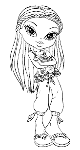 Small Picture bratz girls coloring pages index coloring pages bratz pictures