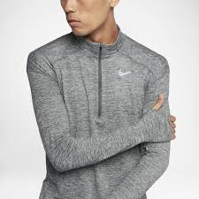 Nike Element Half Zip Size Chart Nike Dri Fit Element Mens Long Sleeve Half Zip Running Top