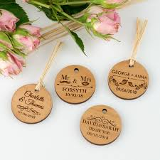 end wooden circle wedding gift s