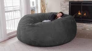 giant bean bag furniture. Giant Bean Bag Chair Inside Furniture