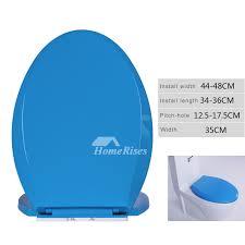 blue soft close toilet seat. close toilet seat elongated blue pp bathroom soft