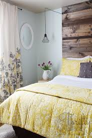 pinterest master bedrooms blue. guest bedroom reveal with sherwin-williams and a giveaway! yellow master bedroomyellow curtainsblue pinterest bedrooms blue r