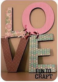 Image result for pinterest valentine wood love letters ideas