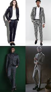 Mens Patterned Suits