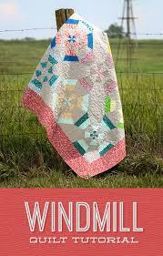Make a Windmill Quilt with Jenny! & Windmill Quilt Tutorial from Missouri Star Quilt Co. Adamdwight.com
