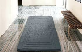 microfiber kitchen rug hotel bordered foam padding cushioned microfiber grey bath rug x inches kohls microfibres