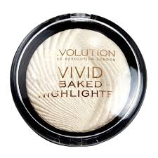Makeup Revolution Vivid Baked Highlighter In Golden Lights Details About Makeup Revolution Highlighter Vivid Baked