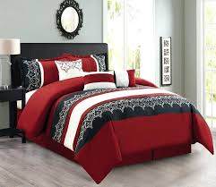 black red bedding red king bedding silk duvet covers red comforter sets queen silk luxury bedding