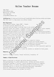 Resume Teacher Resume Template Free Edouard Space Samples Line