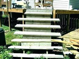prefab outdoor wood stairs prefabricated wooden steps exterior building