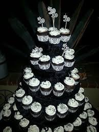50th Birthday Cupcake Tower For Him 3238214808 Baking Fun 50th