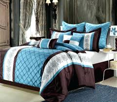blue and brown comforter sets king blue and brown bedding elegant look bedroom ideas with king