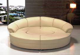 circular sofa bed furniture using curved sectional sofa for an