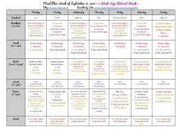 21 Day Fix Meal Chart 21 Day Fix Meal Plan 3 Week Yoga Retreat Simply Clean Fit