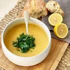 arabic lentil soup   shorbat addas