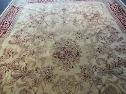 10 x 14 vintage chinese hand made wool rug aubusson savonnerie design nice 2