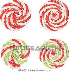 christmas lollipop clip art. Contemporary Lollipop Clipart  Christmas Lollipops Set Fotosearch Search Clip Art  Illustration Murals Drawings Intended Lollipop Art T