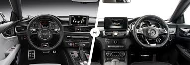 audi a7 interior black. Plain Black Audi A7 Vs Mercedes CLS Interior With Interior Black E