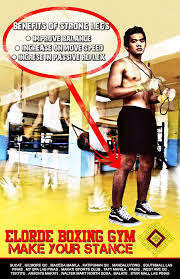 elorde boxing gym advertising caign