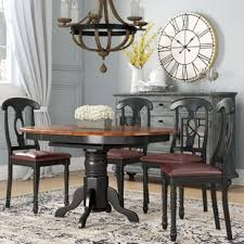 aimee 5 piece extendable dining set