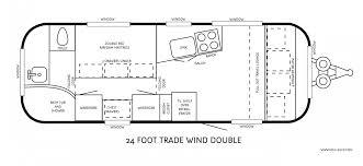 airstream floor plans.  Plans Classic Series Travel Trailers Of Airstream Floor  With Plans