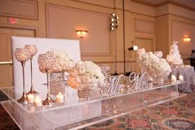 Gorgeous Bride And Groom Wedding Table Grooms Table Grooms And Brides On  Pinterest