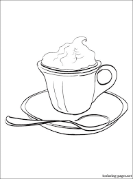 Small Picture Hot chocolate coloring page Coloring pages