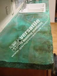 heat resistant 5050 clear polyurea concrete countertop sealer