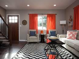 peaceful ideas curtain color for orange walls inspiration