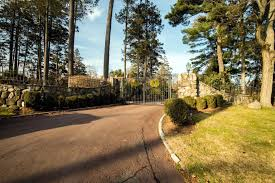 Stone Entry Gate Designs Tri State Gate In 2019 Gates With Matching Fences