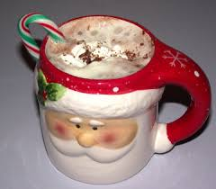 cup of hot chocolate christmas. Simple Christmas And Cup Of Hot Chocolate Christmas