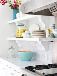 Open kitchen wall shelves isn't a storage solution for everybody. 7 Cheap Ways To Update Your Kitchen Cabinets Better Housekeeper