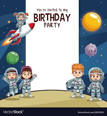 Birthday Invitation Party Birthday Kids Invitation Party Card
