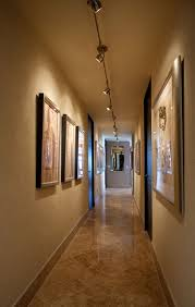 flexible led track lighting hall ideas for gallery wall with contemporary