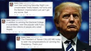 Image result for donald trump twitter