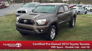 Certified 2013 Toyota Tacoma TRD Sport Double Cab for sale at ...
