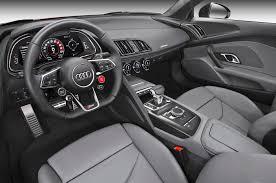 black audi r8 interior. 2018 audi r8 interior black w