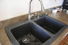 black granite composite sink 2