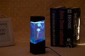 Jellyfish Tank Mood Light Amazon Calover Jellyfish Lamp Electric Jellyfish Tank Aquarium