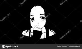 Anime Wallpapers Black White Anime Cute ...