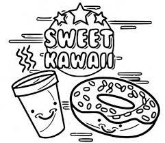 Disegno Da Colorare Kawaii Dolce Kawaii 6