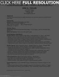 Volunteer Activities On Resume Resume Work Template