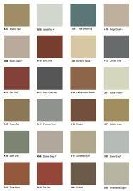 Scofield Color Chart In 2019 Concrete Color Concrete